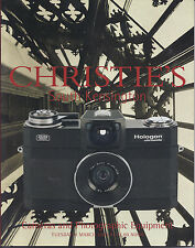 CHRISTIE'S CAMERAS Leica Nikon Canon Rollei Wood-Body Lenses Auction Catalog 03