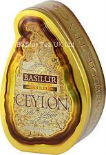 Basilur Tea-Puro Ceylon foglia di tè Nera Loose-Oro Qualità Premium - 100g