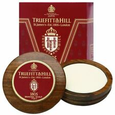 Truefitt & Hill 1805 Shaving Soap & Wooden Shaving Bowl