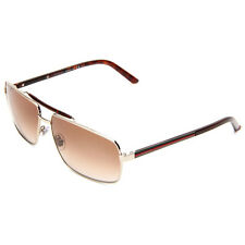 GUCCI Sunglasses Light Gold Metal Brown Tortoise Web GG 2202/S EW0YY 289659