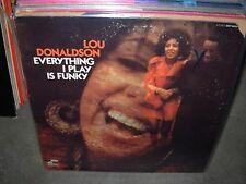 LOU DONALDSON everything i play is funky ( jazz ) blue note 84337 - RVG