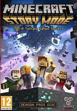 Minecraft: Story Mode -A Telltale Game Series- Season Disc(PC)New- 1st Class Del