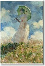 Claude Monet - Study of a Figure Outdoors - NEW French Fine Art Print POSTER