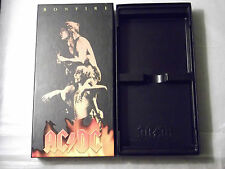 AC DC Bonfire 1997 Version EMPTY BOX AND TRAY ONLY No CDs or Promos