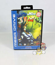 Earthworm Jim ( Sega Mega Drive / SMD ) * CiB * TOP * BOXED *