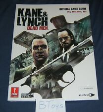 Kane & Lynch Dead Men Official Strategy Guide for PC XBox 360 PS3 - Prima SEALED