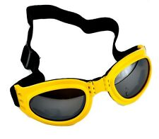 Yellow Frame Anime Goggles Sport Sunglasses Gothic Lolita Cyber Industrial Club