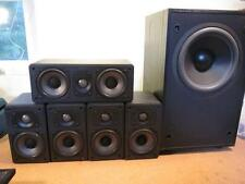 Mirage 5.1 Speakers System Four AVS-200, Center AVS-100, Sub FRX-S8 Wall Bracket