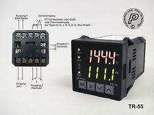 TR-55 PID u. 2/3-Punkt Multi- Temperaturregler Relais & SSR 24VDC Steuerspannung