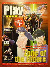 Guías Zone of The Enders, Shadow of Memories, SSX, Moto GP (PS2 PS3 XBOX 360 PC)