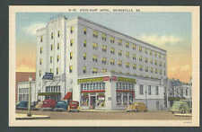 PPC #K31* Good Post Card Dixie Hunt Hotel Gainesville Ga Mint