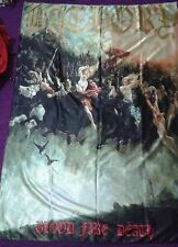BATHORY Blood Fire Death FLAG CLOTH POSTER WALL TAPESTRY CD BLACK METAL