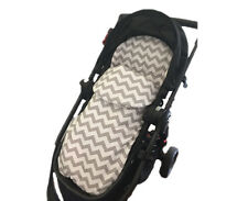 GOOSEBERRY 2in1 FOOTMUFF PRAM LINER SLEEPING BAG Cotton Chevron All Year TheBest