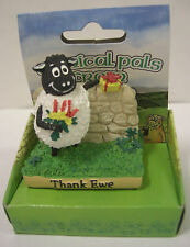 "IRELAND SHEEP WITH FLOWERS AND GIFT ""THANK YOU"" THANK EWE"