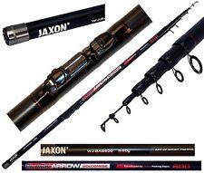 Jaxon Black Arrow Bolognese Rute 6m Angelrute WG 5-20g Bolorute Teleskopangel