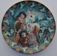 """The Miracle of Love"" Guardians of the Kingdom, Reco Collector Plate 1990"
