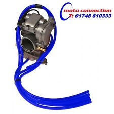 5 PIECE MBO SPORT CARBURETTOR CARB HOSE KIT - BLUE YAMAHA YZ125 YZ250 2001