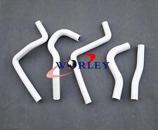 Silicone radiator hose for Honda CR125R CR 125 R CR125 2003-2004 03 04 white