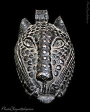 BENIN BRONZE LEOPARD HEAD MASK ~ 8x10 Portrait Photo~ Fine Art Photography Print
