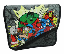 Chicos-Marvel Los Vengadores Mensajero Envío Bolso de mensajero