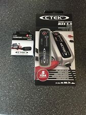 CTEK Multi MXS 5.0 12V Battery Charger  FREE   CTEK  TRAFFIC STATUS LEAD OFFER!!