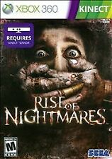 Rise of Nightmares KINECT XBOX 360 NEW! ZOMBIES, WALKING DEAD, HALLOWEEN FIGHT