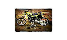 1981 rm125x Bike Motorcycle A4 Photo Poster