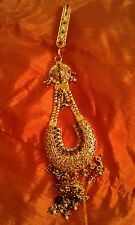 Asian Ethnic Jewelled Goldplated Keyring/ Bag Charm