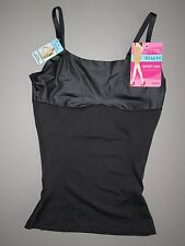 SPANX LOVE YOUR ASSETS~SMALL~SS6315~Black Spot On Slimmers Cami Shapewear