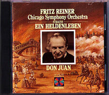 Fritz REINER: Richard STRAUSS Ein Heldenleben Don Juan RCA Chicago SO CD 1985