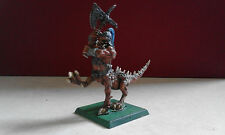 WARHAMMER FANTASY-CHAOS DRAGON OGRE-OOP- PAINTED-INCOMPLETE-GW