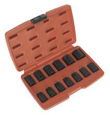 Sealey AK5613M Juego De Llaves De Vaso 13 piezas 1.3cm Entrada Cuadrada Métrico
