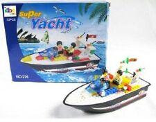 Costruzione Mattone Blocco barca giocattolo creativi di costruzione 73 PEZZI