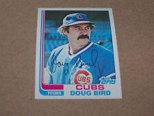 CHICAGO CUBS DOUG BIRD 1982 TOPPS #273