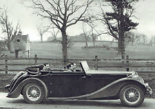 MG 2 Litre Tickford All Weather Body 1937 Advertisement Ad 9164