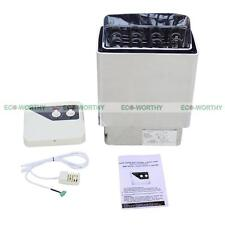 6KW AC Wet & Dry Sauna Stove Electric Heater Kit Stainless Steel Home Spa