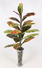 Artificial Croton Plant - Artificial Silk Plant and Tree