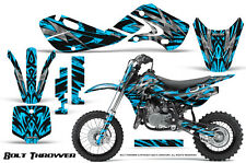KAWASAKI KLX110 02-09 KX65 00-12 GRAPHICS KIT CREATORX DECALS BTBLI