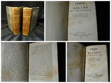 Storia di Milano del conte Pietro Verri - Milano 1830 – 4 volumi in 2 tomi