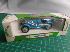 Bugatti Type 35 1:36 Corgi Mobil Performance Car Collection Vintage Diecast New