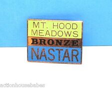 Ski Pin Badge Skiing - NASTAR BRONZE : MT HOOD MEADOWS - Oregon OR - Ski Resort