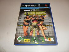 PlayStation 2  PS 2  Outlaw Tennis