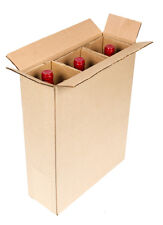 3 Bottle Wine Shipping Box SpiritedShipper.com boxes are UPS & FEDEX Approved