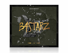 K-POP BASTARZ [Conduct Zero] 1st Mini Album CD+Photo Booklet Block B Unit Sealed