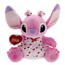 Authentic NEW Disney Store Lilo & Stitch ANGEL Pink Stuffed Animal Plush - NWT