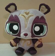 "Hasbro Littlest Pet Shop LPS  Panda Plush 9"" stuffed animal"