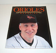Baltimore Orioles Magazine 2001 Cal Ripken, Jr. Commemorative Edition