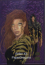 TOP COW SHOWCASE - The Painted Cow - Chromium Chase Card 6 - Witchblade