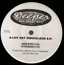 A-Luv – Get Ridiculous E.P.