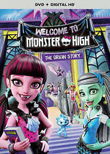Monster High: Welcome to Monster High (DVD, 2016, Includes Digital Copy...